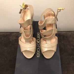 Sergio Rossi Taupe Sandals